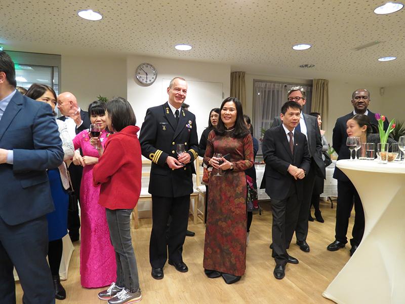 Gặp gỡ tri ân bạn bè Hà Lan và đoàn ngoại giao nhân Năm mới Kỷ Hợi